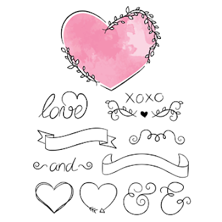 free valentine's day hand drawn graphics