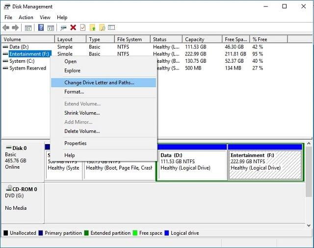 Cara Mengganti Huruf Partisi Hardisk pada Windows 3