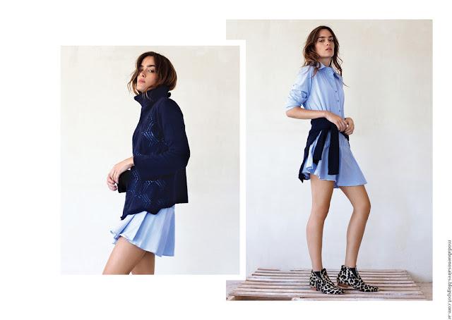 Moda invierno 2016 ropa de mujer moda Pura Pampa.