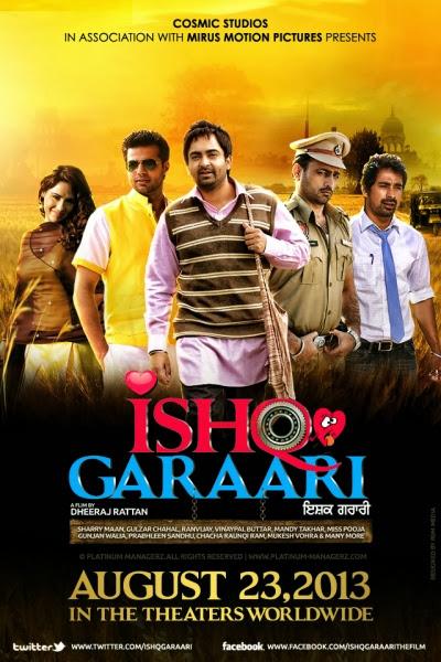 Ishq Garaari 2013 DVDScr 700mb