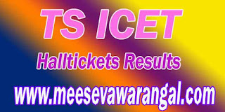 Telangana TS ICET Halltickets Results Download