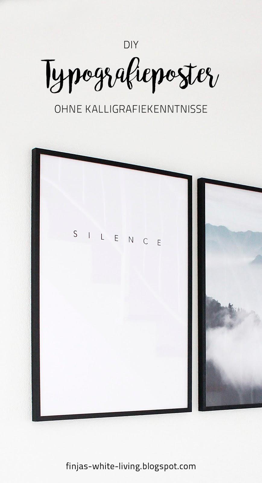 diy typografie poster ohne kalligrafiekenntnisse finjas. Black Bedroom Furniture Sets. Home Design Ideas