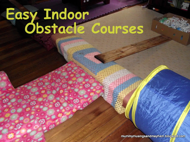 Gross Motor Play indoor obstacle course