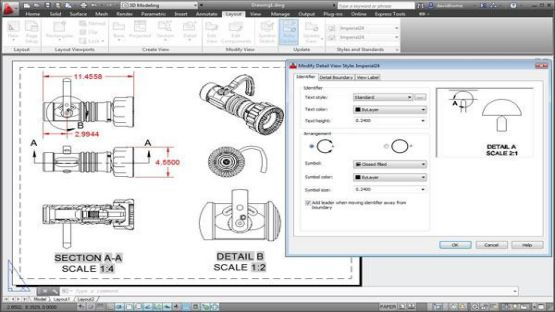 AutoCAD 2013 screenshot 2