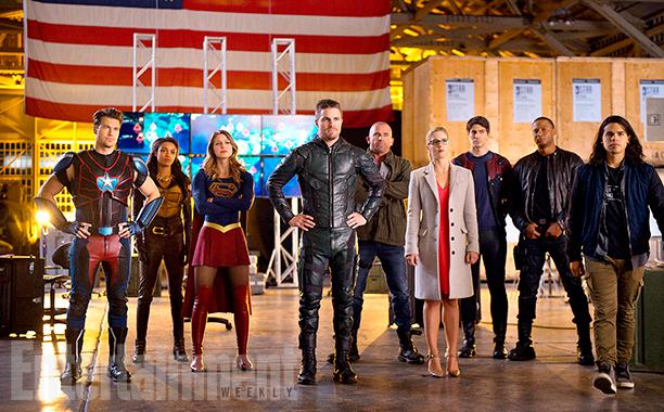 Стрела, Флэш, Супергерл и Легенды показывают промо кроссовера