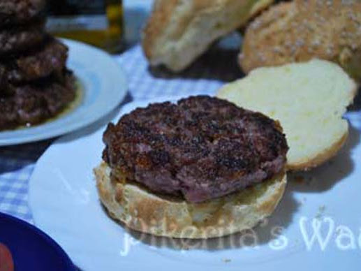 Hamburguesa #singluten Cooking Challenge