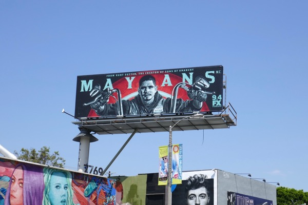 Mayans MC season 1 billboard