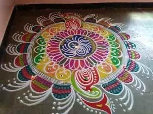 Free Hand Rangloi Designs