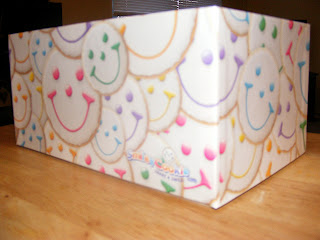 Smiley Cookie Box