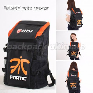 Gaming Bag Tas ULTIMATE Backpack - Fnatic