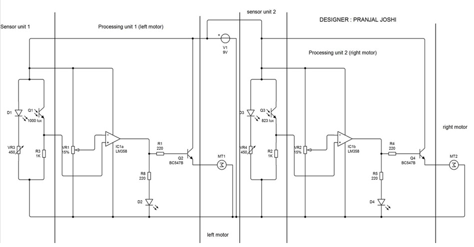 Robot Schematic further Arduino Line Follower Robot Image X further Ir Sensors Circuit Diagram in addition Fzng Uhwtbjfb Square moreover Photo. on line following robot circuit diagram