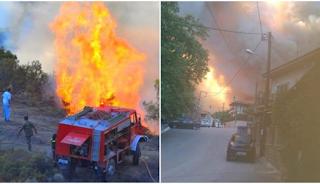 Ραγδαίες Εξελίξεις: Σε δύο μέτωπα η φωτιά στην Εύβοια – 500 κάτοικοι έφυγαν από τα χωριά Κοντοδεσπότι και Σταυρός