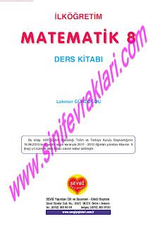 8. Sınıf Matematik Ders Kitabı Cevapları Sevgi Yayınları