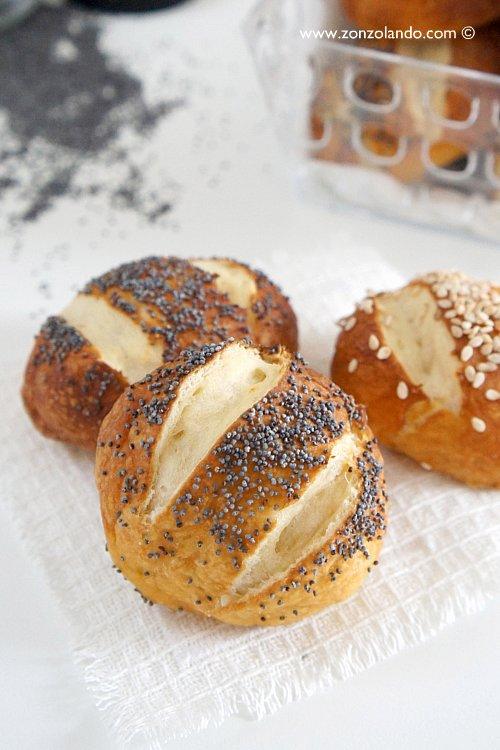 Panini tedeschi laugenbrot alla soda ricetta perfetta - Laugenbrot soda bread recipe