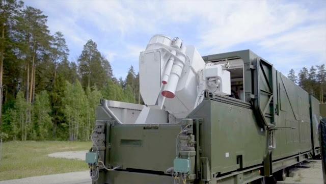 Edan! Rusia Kembangkan Senjata Laser Canggih