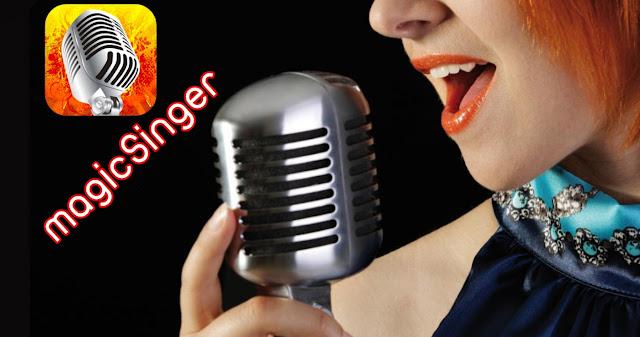 تطبيق magicSinger لتحويل الكلام الي أغاني بموسيقي رائعة.