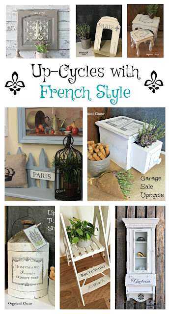 Thrifted French Style Up-Cycle Ideas