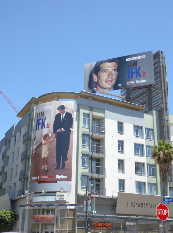 I am JFK Jr documentary film billboard