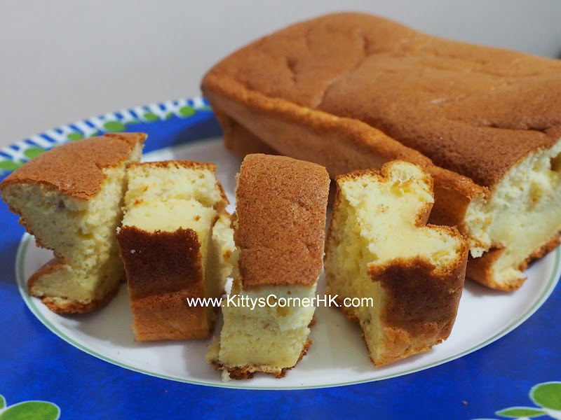Light Banana Cake DIY recipe 輕盈香蕉蛋糕 自家烘焙食譜
