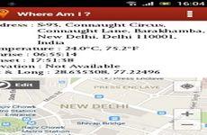 Where Am I?: aplicación que te permite conocer y compartir tu ubicación actual (Android)