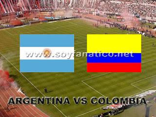 Argentina vs Colombia Eliminatorias 2016