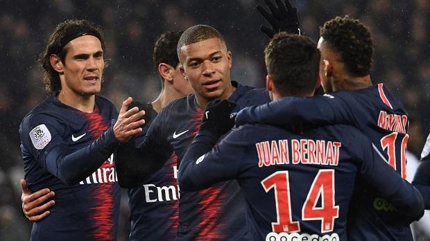 Vidéo - France: le PSG atomise Guingamp 9-0 à domicile