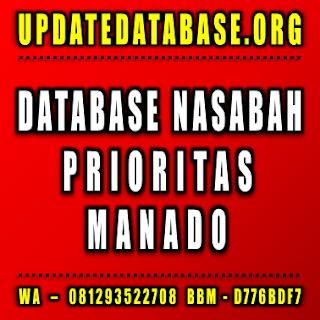 Jual Database Nasabah Manado