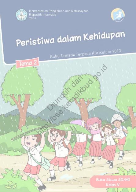 Download Buku Siswa Kurikulum 2013 SD Kelas 5 Peristiwa dalam Kehidupan