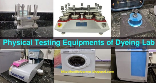 equipments for physical test