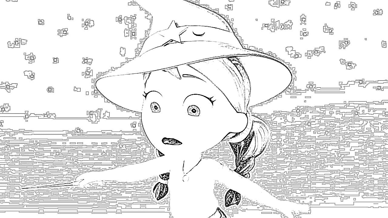 disney vampirina coloring page - Vampirina Coloring Pages