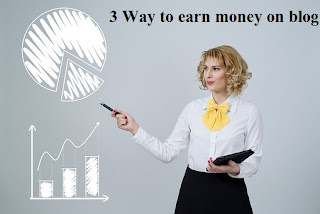 Blogging se paise kamane ke 3 best way to earn money on blogging in hindi step by step | delhi technical hindi blog !
