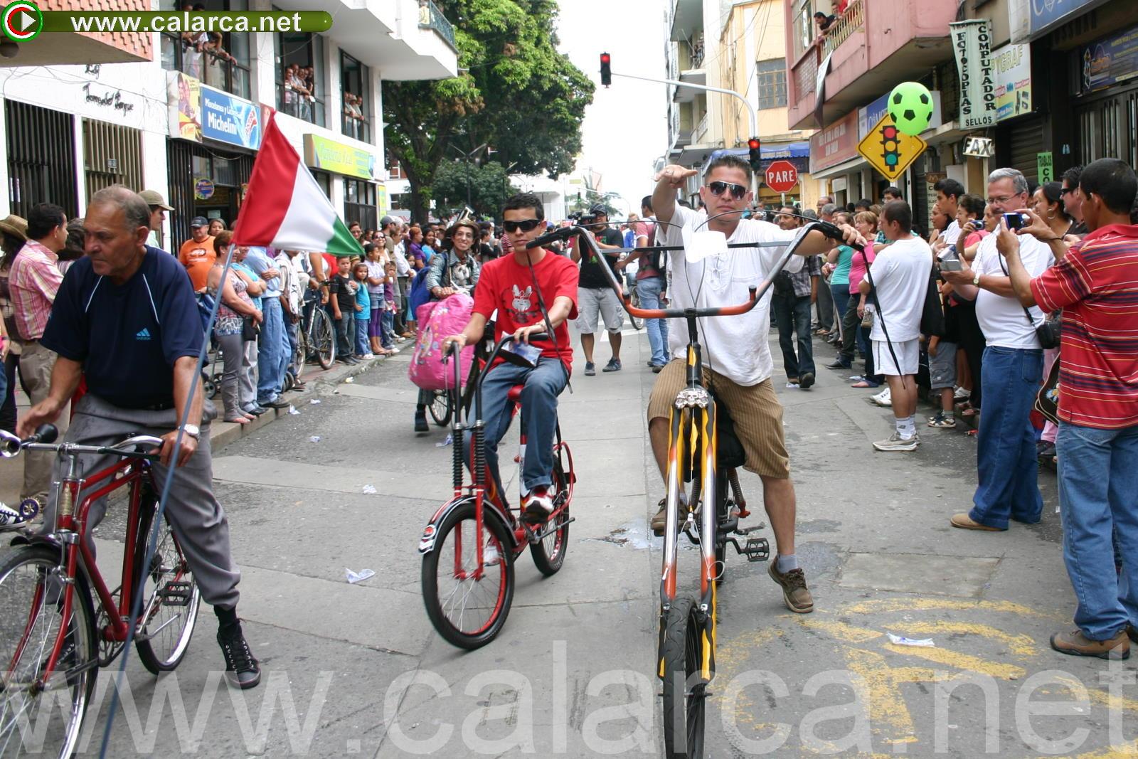V Desfile de Bicicletas
