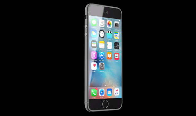 The concepts of the new iPhone 7 shows a very thin iPhone with Super AMOLED display, wireless charging, wireless earpods, water resistant, and a Force Touch home button.