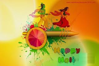 HD Radha Krishna Holi Wallpapers