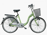 City Bike Wimcycle Mini Vanilla 24 Inci