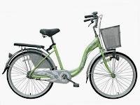 City Bike Wimcycle Mini Vanilla 24 Inci