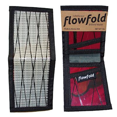 cartera resistente ligera billfold flowfold blanca