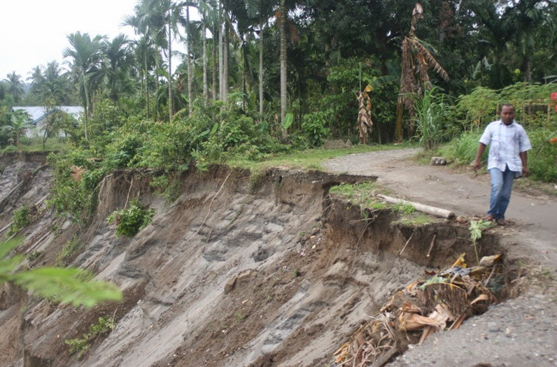 Pengertian Erosi Tanah