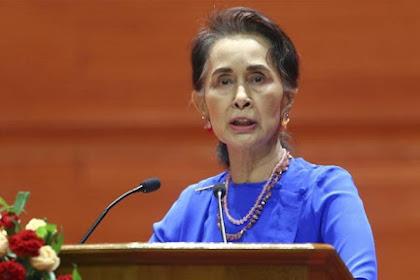 Salah Satu Genosida Terkejam dan Aung san Suu Kyi Diam! Ini Kata PBB  pada Pemimpin De Facto Myanmar