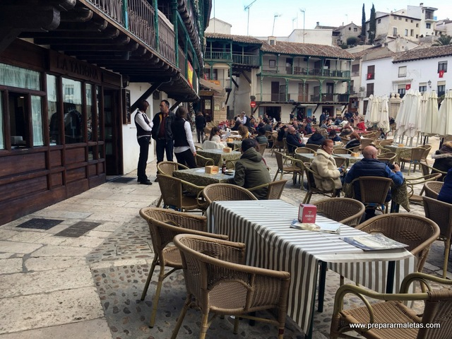 restaurantes plaza mayor chinchon