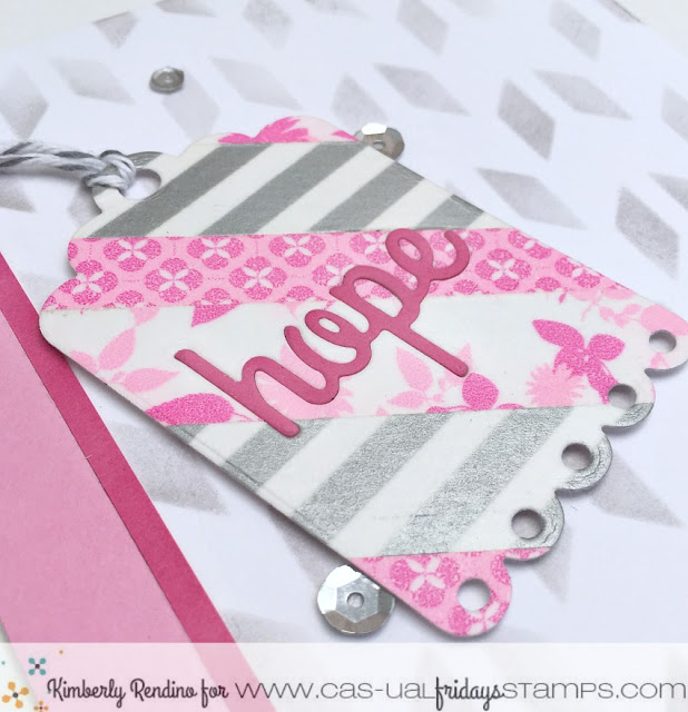 breast cancer   handmade card   support   calling all sistahs   CAS-ual Fridays   kimpletekreativity.blogspot.com