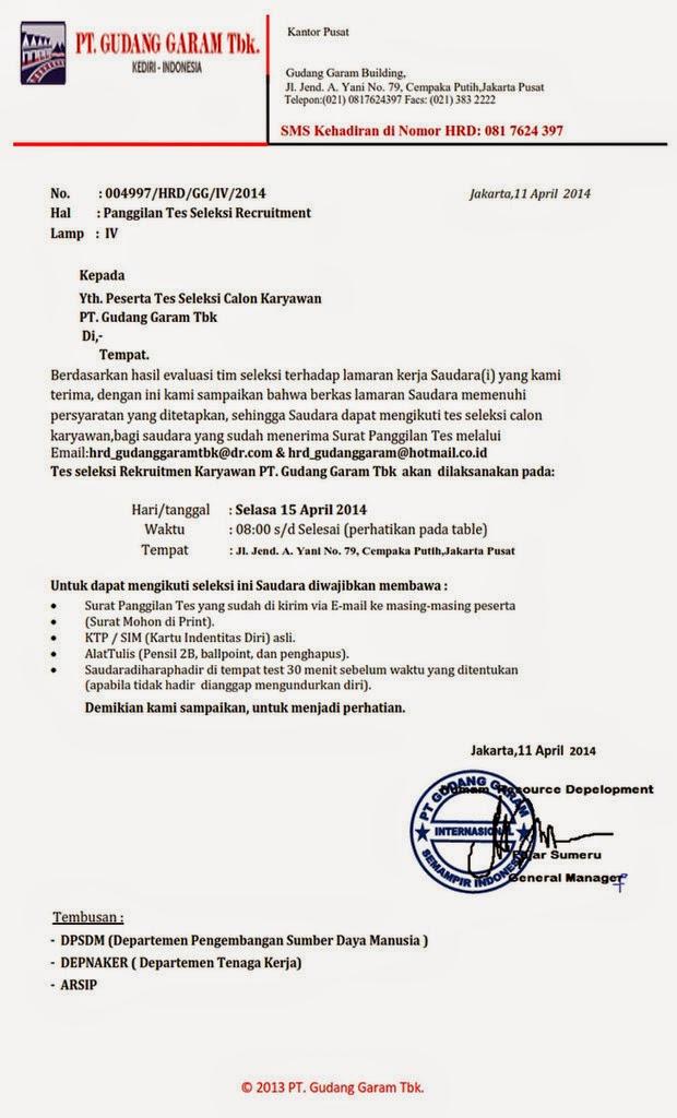 Bongkar Penipuan Contoh Surat Panggilan Tes Lowongan