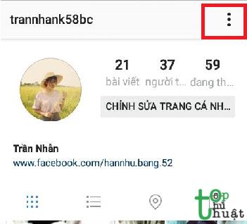 Thiết lập một chế độ riêng tư cho tài khoản Instagram