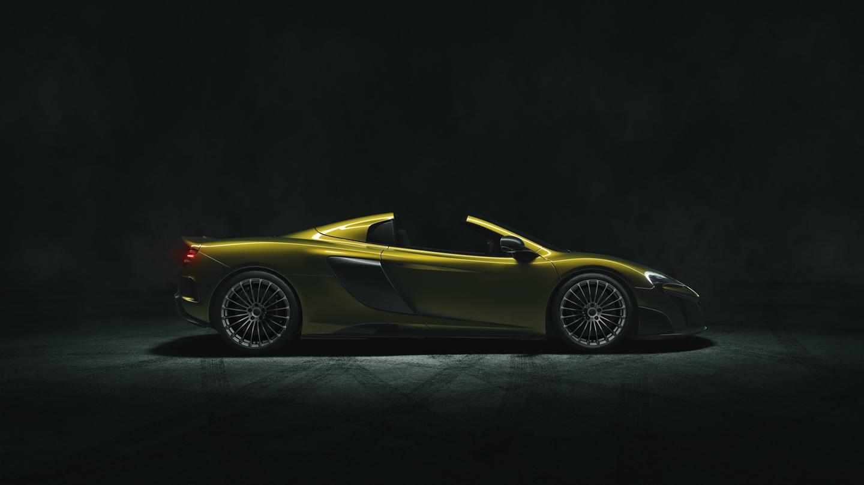 Không dễ để được gặp McLaren 675LT Spiders trên phố