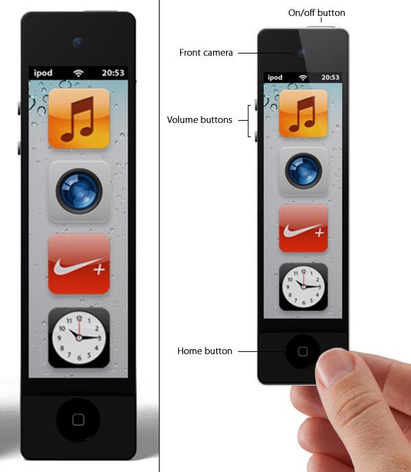 Mobilized Tech: iPod Nano Touch Concept by Enrico Penello