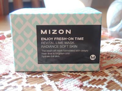 Azjatycki Piątek-Mizon Enjoy Fresh-On Time, Revital Lime Mask