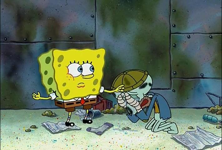 SpongeBob Season 3 Episode 7B - Can You Spare a Dime? 480p Dub Indo