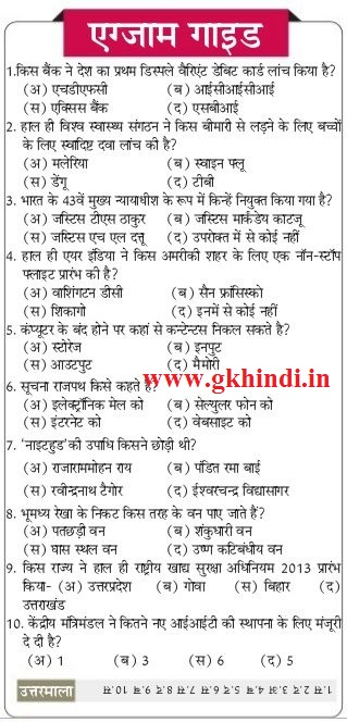 Chhattisgarh Samanya Gyan In Hindi Pdf