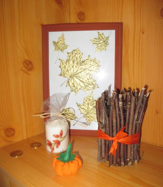 diy podzimní dekorace