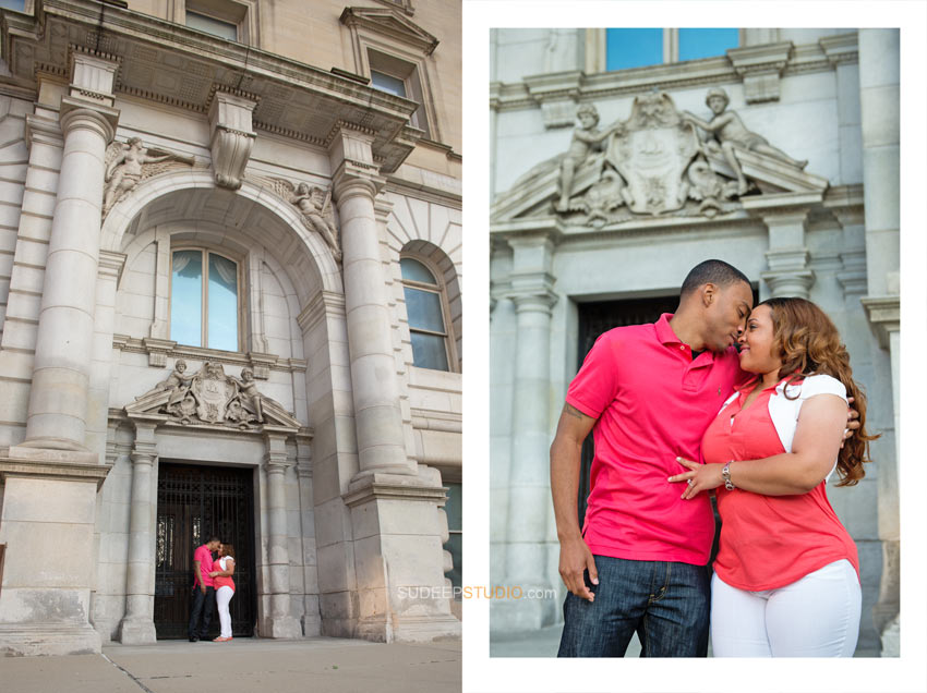 Detroit Engagement Session Ideas - SudeepStudio.com
